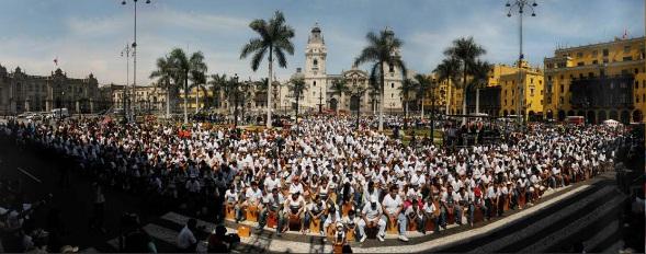 Festival Internacional de cajón Perú