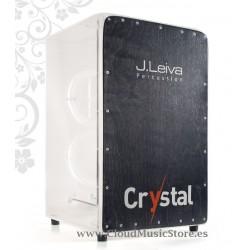 Leiva Percussion Cajon Crystal